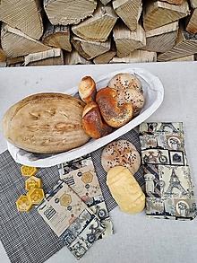 Úžitkový textil - Obrúsok s včelím voskom - mačka v Paríži - 12559208_