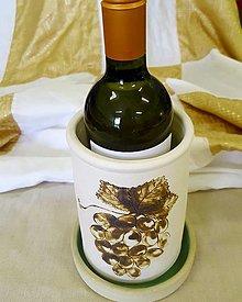 Nádoby - Chladiaca nádoba na víno - 12559936_