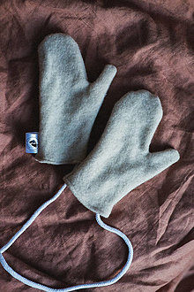 Rukavice - Svetríkové rukavičky - 12562007_