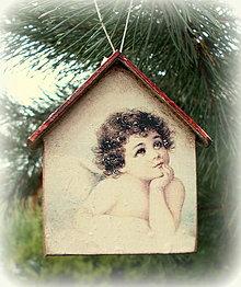 Dekorácie - Vianočná ozdoba - 12561011_