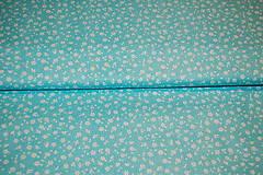 Textil - metráž kvietky - 12563228_