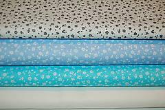 Textil - metráž kvietky - 12563480_