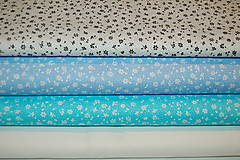 Textil - metráž kvietky - 12563492_