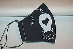 Rúška - rúško mačička - 12564290_