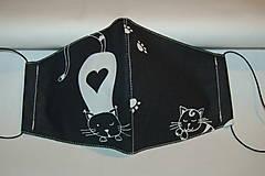 Rúška - rúško mačička - 12564291_