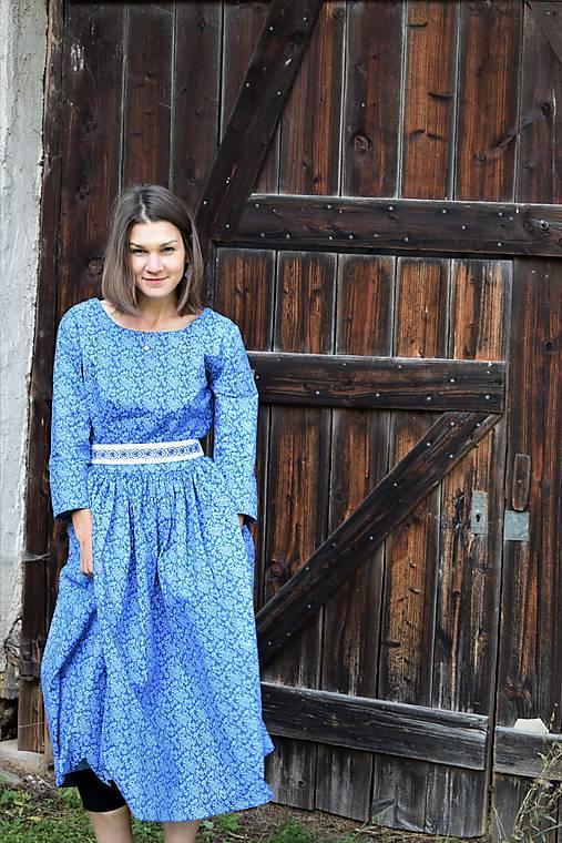 Šaty - Bavlnené šaty - Serco mojo - 12565815_