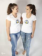 Tričká - Vták Gabo - dámske tričko - 12564601_