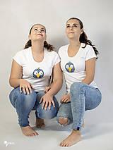 Tričká - Vták Gabo - dámske tričko - 12564607_