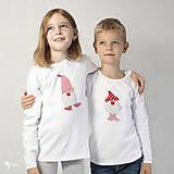 Detské oblečenie - tričko ŠKRIATOK VALENTÍN  kr/dl rukáv - veľ. od 86 do 128 - 12565565_