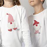 Detské oblečenie - tričko ŠKRIATOK VALENTÍN  kr/dl rukáv - veľ. od 86 do 128 - 12565573_
