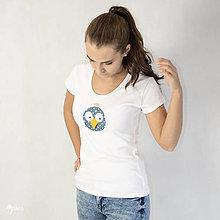 Tričká - Vták Gabo - dámske tričko - 12564614_