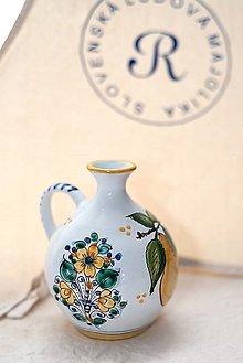 Nádoby - Objednávka - fľaša so slivkami s nápisom- Jozeff - 12565858_