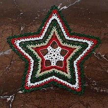 """Úžitkový textil - Čipka """"Hviezdička 2"""" - 12568405_"""