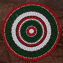 """Úžitkový textil - Čipka """"Vianoce 2"""" - 12568412_"""
