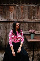 Tričká - Tričko na dojčenie PINK STRAWBERRY - 12565183_