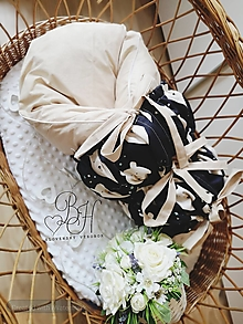 Textil - Paperová zavinovačka béžová s medvedami - 12564776_