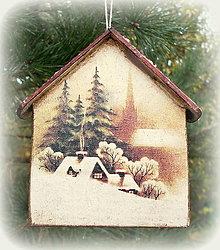 Dekorácie - Vianočná ozdoba - 12565873_