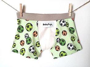 """Detské oblečenie - Chlapčenské Boxerky """"Little Pelé"""" - 12564956_"""