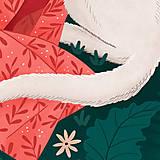 Grafika - Polární vlk - umělecký tisk - 12575539_