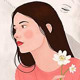 Grafika - Polární medvěd - umělecký tisk - 12575570_