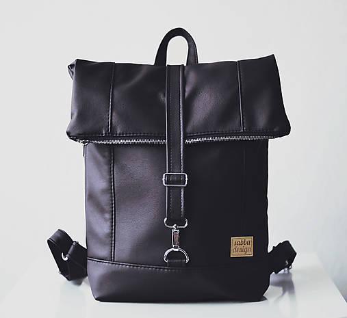 RollTop ruksak Rolly (čierny)
