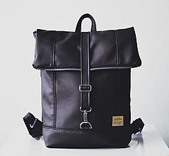 Batohy - RollTop ruksak Rolly (čierny) - 12574275_