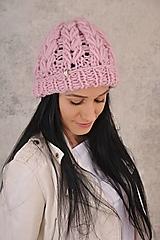 - Luxury čiapka,100 % vlna - 12570353_