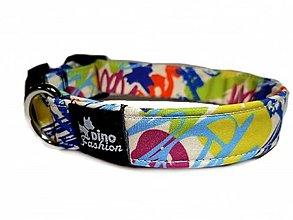 Pre zvieratká - Obojok Happy Colours softshell - 12572265_