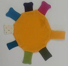 Hračky - Merino žužlátko slniečko - 12571023_