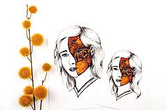 Obrazy - ART Print Maska - 12572320_