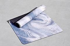 Úžitkový textil - Štýlová joga podložka Touha zo 100% prírodného kaučuku - 12575102_