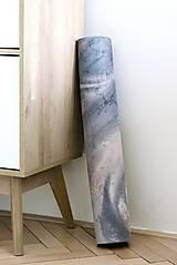Úžitkový textil - Štýlová joga podložka Touha zo 100% prírodného kaučuku - 12575103_