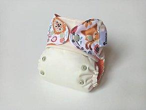 Detské doplnky - Baby fox - PUL Kapsovka (XS-S) + vkladačka - 12571804_