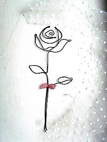 Dekorácie - Ružička * 21 - 12572371_