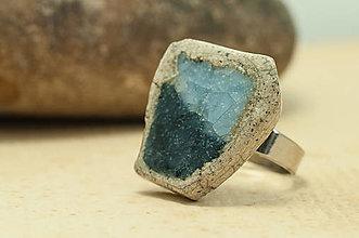 Prstene - RAKU prsteň - 12578388_