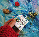 Papiernictvo - Vianočné štítky/ visačky na darčeky - 12579423_