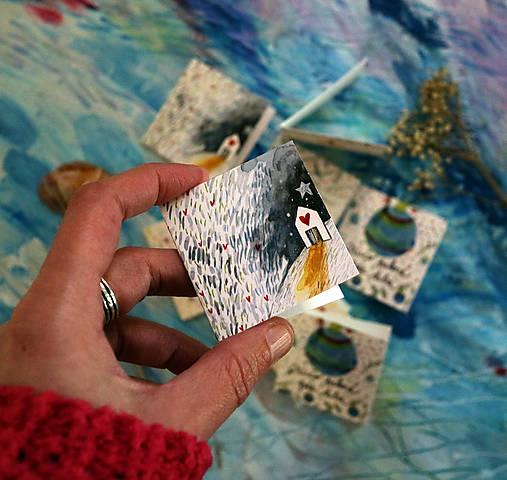 Vianočné štítky/ visačky na darčeky