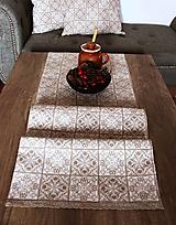 Úžitkový textil - Zimný stredový obrus - behúň - 12578943_