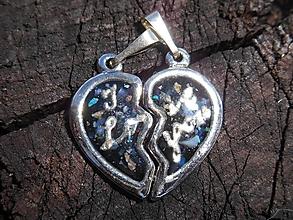 Náhrdelníky - hearts-pre mňa-pre teba- - 12582403_