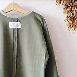 Detské oblečenie - Oversize mikina Hruška - 12579057_