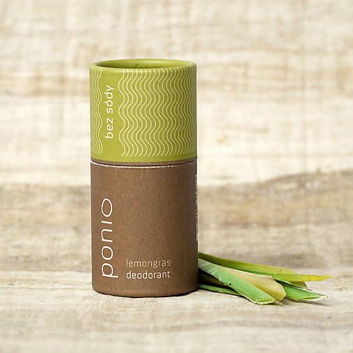lemongras - prírodný deodorant bez sódy