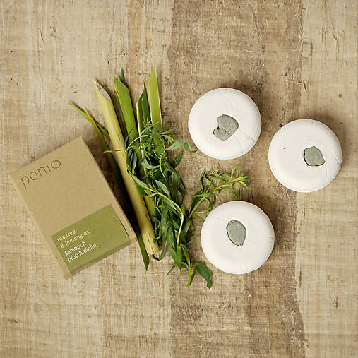 Tea tree & lemongras - šampúch® proti lupinám 30g