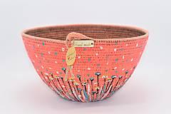 Košíky - Košík / miska malovaný 492 - 12576576_