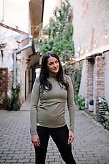 Tehotenské/Na dojčenie - Rolák na dojčenie PINE - 12578429_