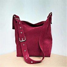 Kabelky - Kožená taška SUZI III. - 12577017_