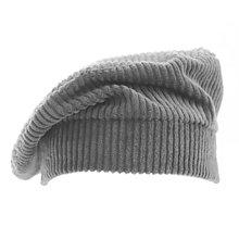 Čiapky, čelenky, klobúky - Francúzska baretka - šedá - 12576744_
