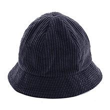Čiapky, čelenky, klobúky - Menčestrový klobúčik - modrý - 12576850_