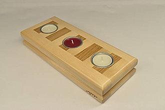 Svietidlá a sviečky - Svietnik Brick - 12579587_