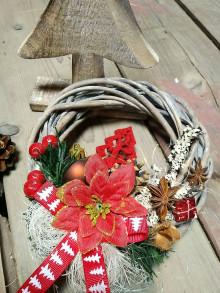 Dekorácie - Veniec Vianoce d13 - 12577019_