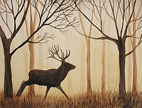 Obrazy - Keď v lese nikoho niet - 12580205_